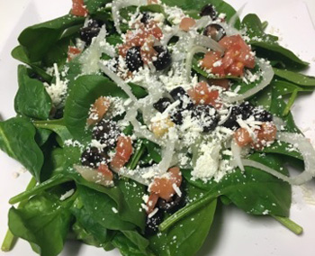 Spinach Salad Side